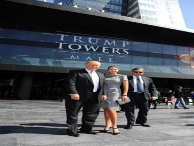 Donald Trump Ve Kızı Ivanka Trump, Trump Towers Mall'da