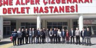 ÇEŞMEDE CHP - AK PARTİ RESTLEŞMESİ