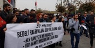 Halkevleri, İBB önünde su zammını protesto etti